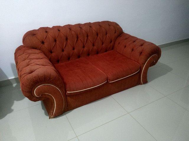 Lindo sofá retrô em Curvelo - Foto 2