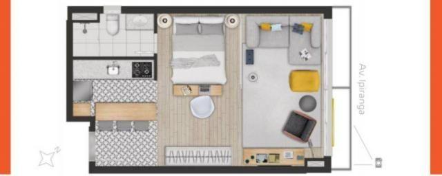 Apartamento à venda com 1 dormitórios em Partenon, Porto alegre cod:AP010336 - Foto 8