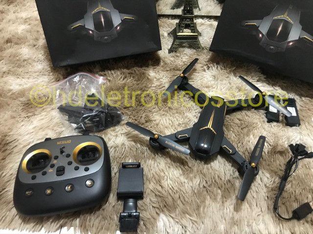 Drone Visuo Gps Wifi 5g Câmera 5mp 1080p C/ 3 Baterias