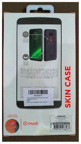 Case Para Motorola G7 Plus Em Couro  - Foto 2