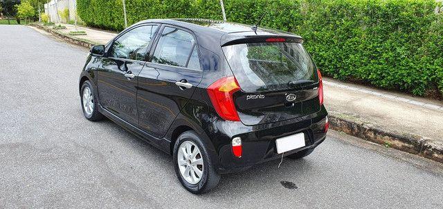 Kia Picanto EX4 1.0 Flex cambio manual 2012 revisado, econômico e abaixo da Fipe - Foto 4