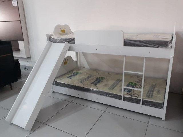 Beliche Infantil com Escorregador - Foto 2
