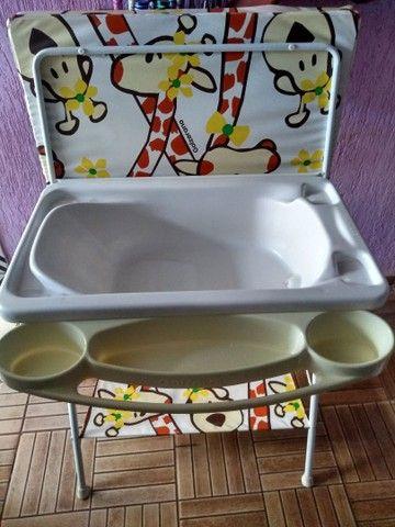 Banheira de bebê/Trocador - Foto 2