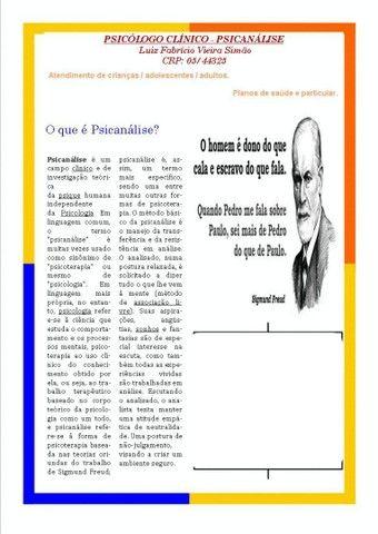Psicólogo Clínico - Psicanálise  - Foto 4