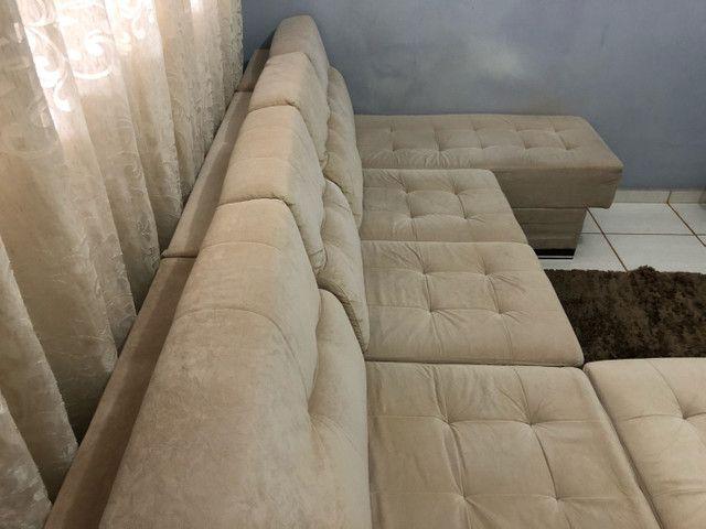 Sofá grande de canto com chase  - Foto 2