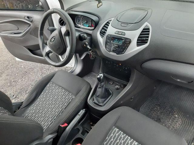 Ford KA SE 4 portas completo Flex com gnv ano 2018 - Foto 15