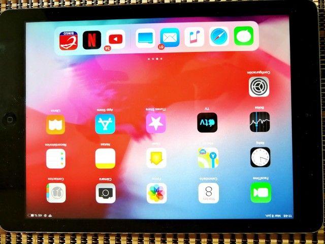 Apple iPad Air 16 gb na cor cinza  Wi-Fi  - Foto 2