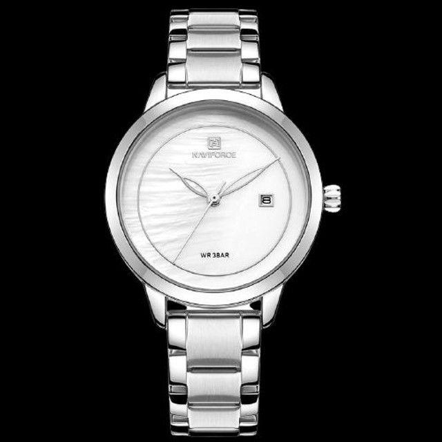relógio de pulso de marca de luxo à prova d'água de quartzo para senhora com garantia  - Foto 2