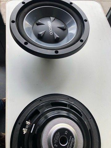 Auto falantes de 12 pol kenwood 800 wats - Foto 6
