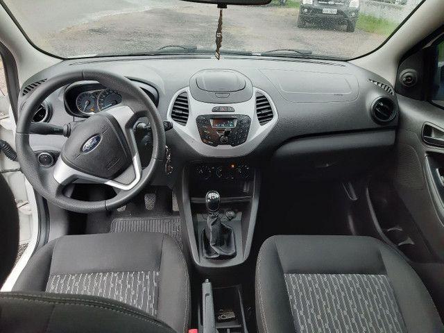 Ford KA SE 4 portas completo Flex com gnv ano 2018 - Foto 10