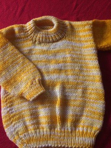 Blusão de lã bem grosso ! Novo 50  - Foto 2