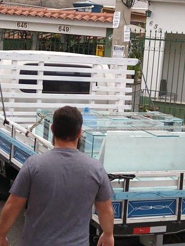 Fabricamos aquário sob medida