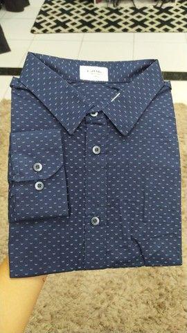 Camisas work preço de fábrica - tamanho 8 - camisas plus size - Foto 3
