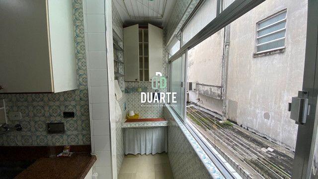 Vendo apartamento 1o. andar, frente, varanda, escada, 76m2 úteis, Campo Grande, Santos, SP - Foto 17