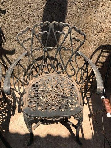 Cadeiras de Jardim - Taquaritinga Sp  - Foto 3
