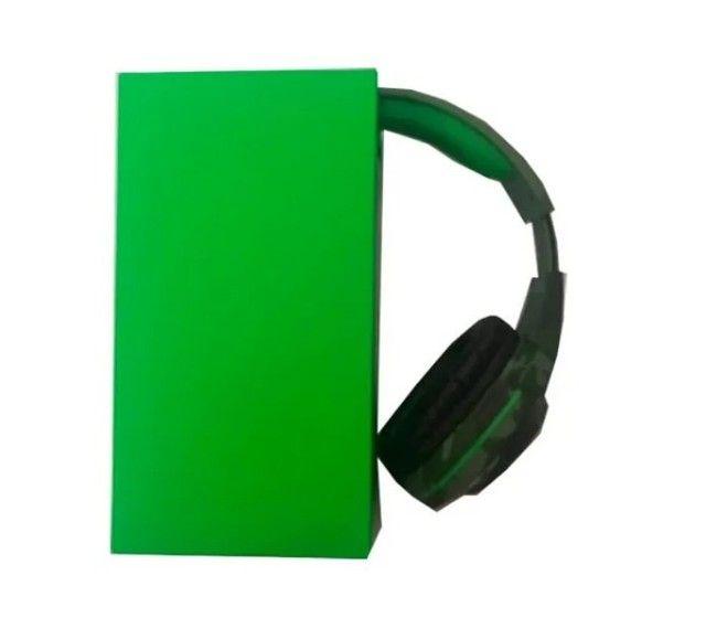Fone De Ouvido Headset Gamer Tecdrive Px-2 Verde Com Azul - Foto 5