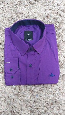 Camisas work preço de fábrica - tamanho 8 - camisas plus size - Foto 4