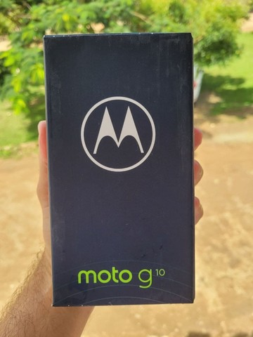 Celular Motorola Moto G10 64GB, Tela 6,5, Novo, Lacrado, Garantia de 1 ano