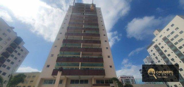 Apartamento com 2 dormitórios à venda, 80 m² por R$ 420.000,00 - Vila Tupi - Praia Grande/ - Foto 2