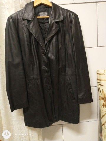 Jaqueta de couro original feminino - Foto 5