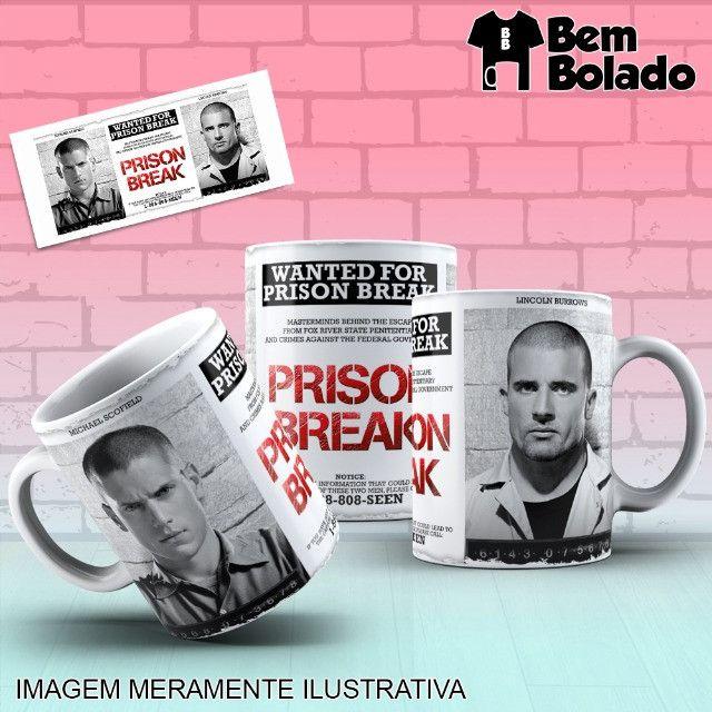 Caneca Prison Break Série Netflix - Foto 4