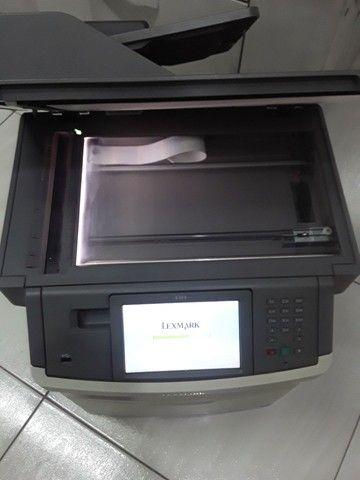 Multifuncional Lexmark x464 com defeito no cooler