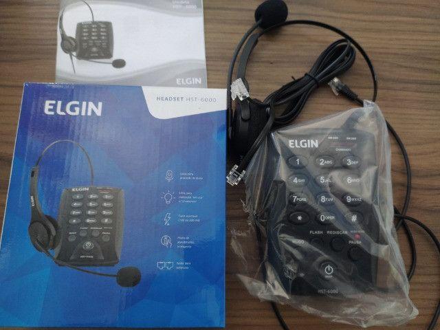 Telefone Elgin Headset - HST-6000