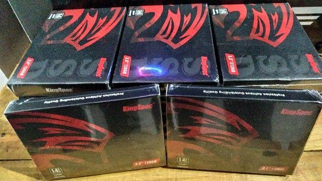 SSD 120gb kingspec - 128, 240, 256, 480 e 512gb - Novos - Entrego e Aceito Cartões - Foto 5