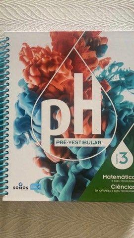 Livros sistema PH pré vestibular novos e semi - novos - Foto 4
