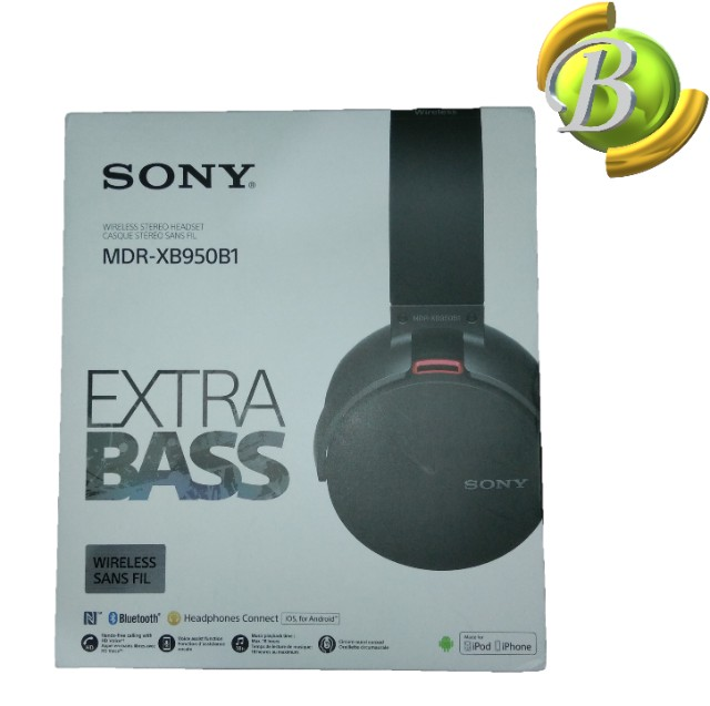 Fone de ouvido Sony Original MDR-XB950B1 Over EAR - Foto 5