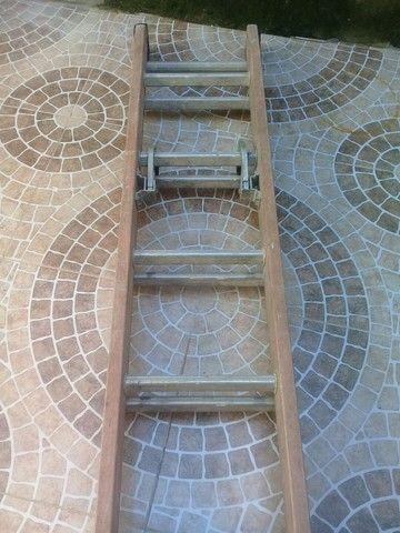 Escada de 2 lances 7 mtrs  - Foto 2
