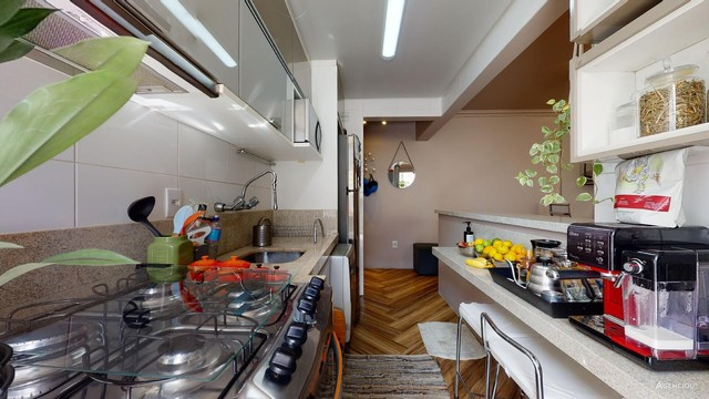 Apartamento de 101m², com 2 dormitórios/quartos, 1 suite com closet, 2 vagas cobertas - Jd - Foto 19