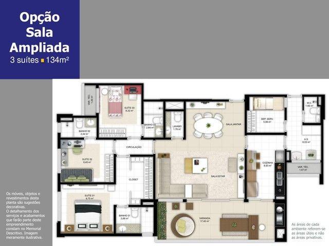 Apartamento a venda com 4 suítes com 180m² em Ludco Greenville - Foto 16
