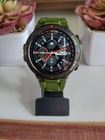 Relógio smartwatch Lemfo K22 recebe e faz chamadas novo - Foto 5
