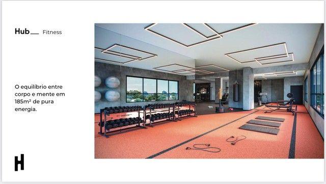 Compacto de luxo, 2 quartos com Varanda Gourmet, Ofurô e Churrasqueira. - Foto 15