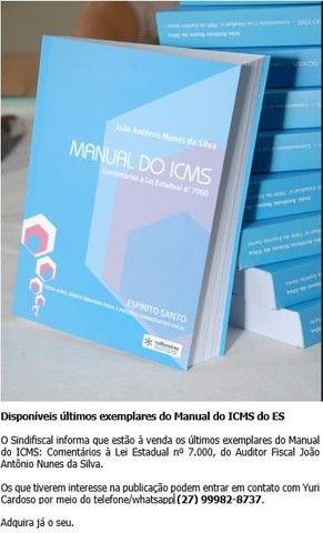 CONCURSO SEFAZ - 2021 - MANUAL DO ICMS - Foto 3