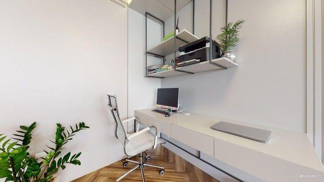 Apartamento de 101m², com 2 dormitórios/quartos, 1 suite com closet, 2 vagas cobertas - Jd - Foto 15