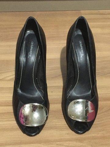 Sapato feminino salto alto preto