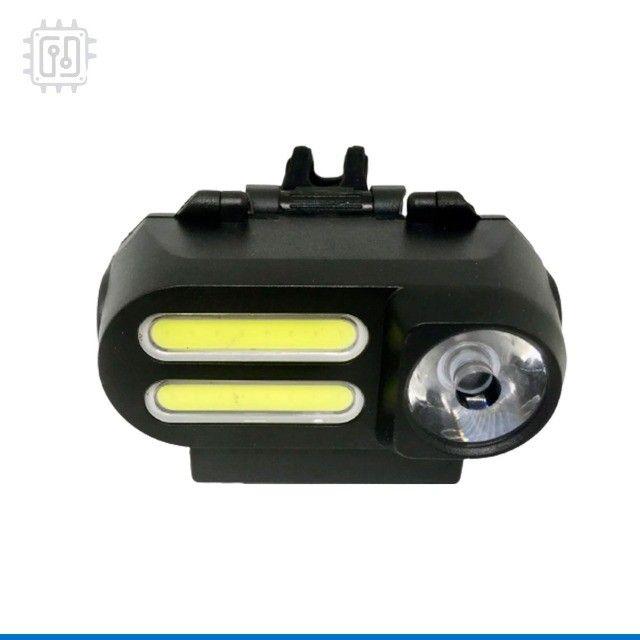 Lanterna Farol para Bicicleta Dianteira Led Bike Lamp Recarregável por USB - 4 Modos - Foto 4