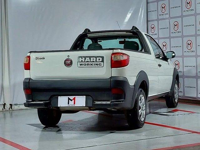FIAT STRADA HARD WORKING 1.4 MPI FLEX CS 2P MANUAL - 2019 - BRANCO - Foto 3