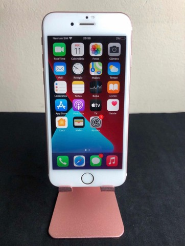 iPhone 6s ouro Rosa 128GB sem marcas de uso - Foto 2