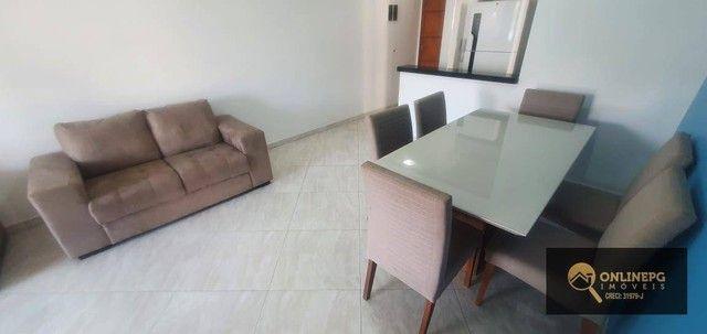 Apartamento com 2 dormitórios à venda, 80 m² por R$ 420.000,00 - Vila Tupi - Praia Grande/ - Foto 17