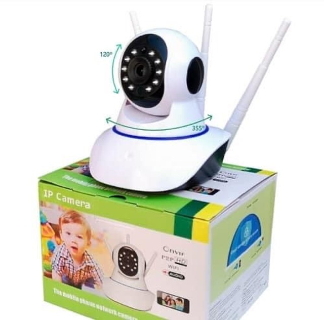 Câmera ip Wi-Fi de segurança