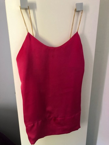 Blusinha de Alça Pink!