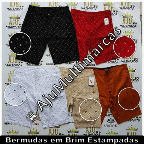 Bermuda Brim Estampada (Mod. 07) - Roupas e calçados - Aracaju ... d40428b687