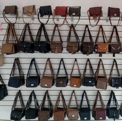 ab2eef181 Bolsas Femininas couro ecológico, diversas cores - Bolsas, malas e ...