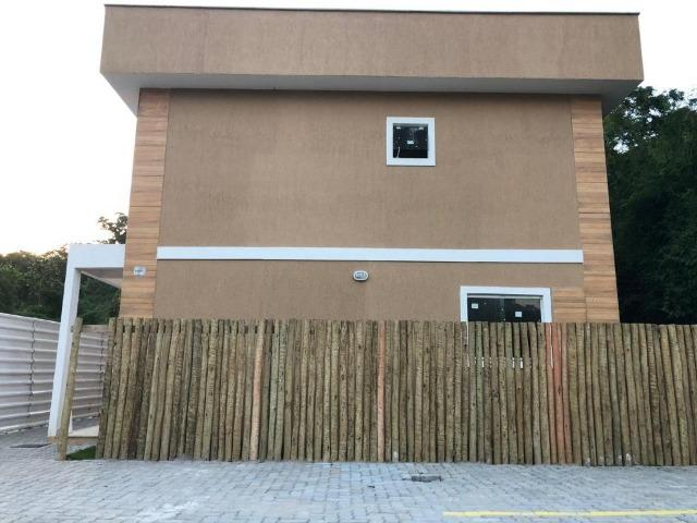 Casa duplex de primeira locação com 2 quartos e vaga em Itaiocaia Valley - Foto 5