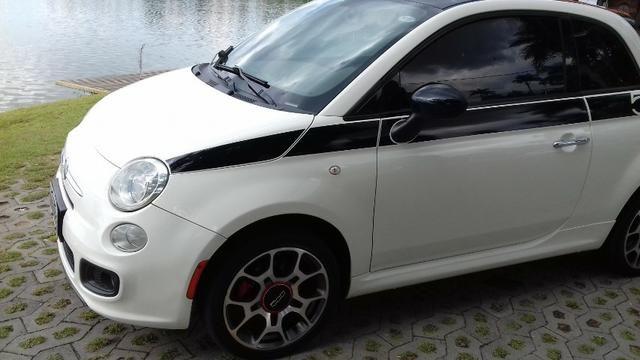 Fiat 500 Sport Air 1 4 16v 1 4 Flex Mec 2012 603669068 Olx