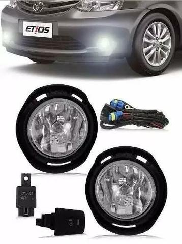 Kit Farol Milha Neblina Toyota Etios 2012 2013 a 2017 2018