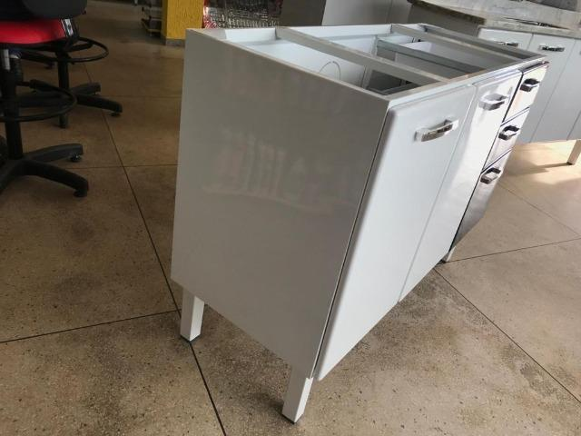 Gabinete HB 1,20 Para Pia de Cozinha Totalmente Organizada e Moderna - Foto 4